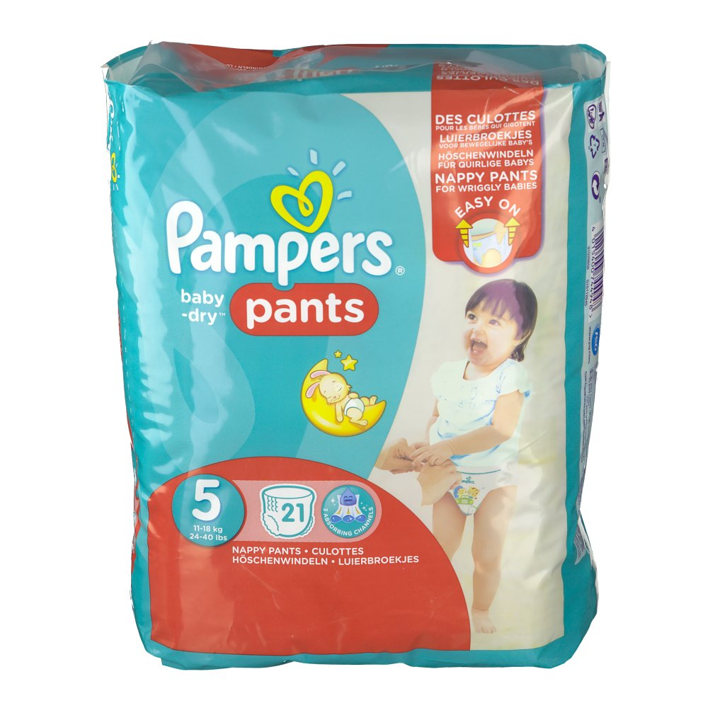 pampers baby dry pants taille 5 12 17 kg couches. Black Bedroom Furniture Sets. Home Design Ideas