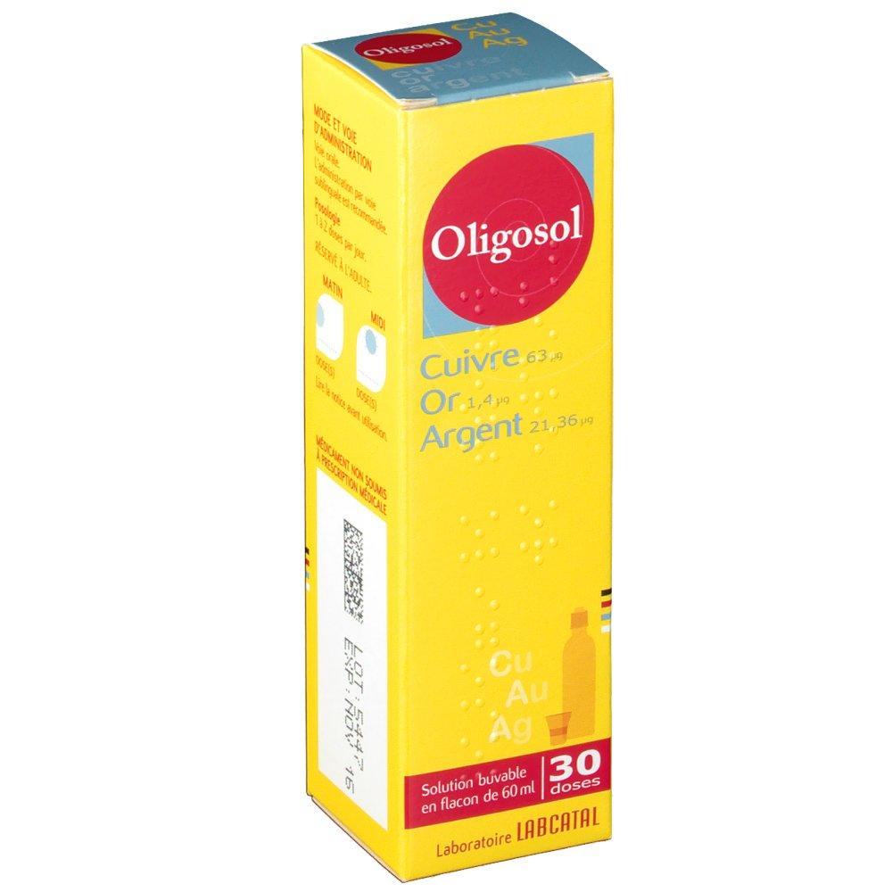 oligosol or cuivre argent