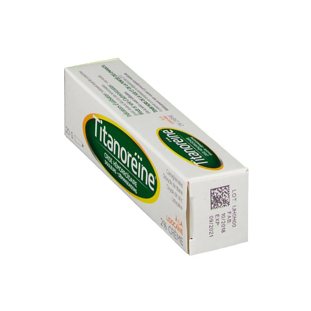 Titanoreïne® Lidocaïne crème 2 % - shop-pharmacie.fr