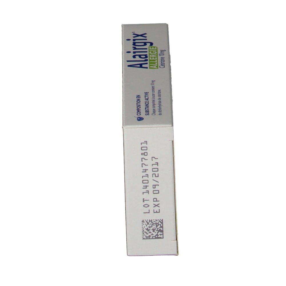 Alairgix® Allergie Cétrizine 10 mg - shop-pharmacie.fr