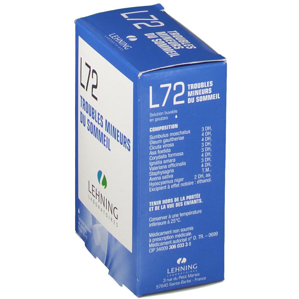 l72 lehning prix