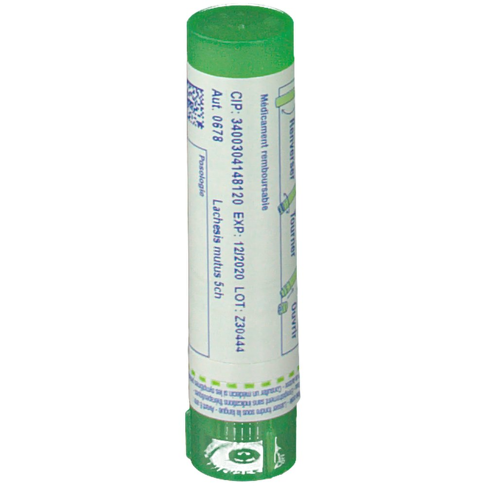 Boiron Lachesis Mutus 5 ch - shop-pharmacie.fr
