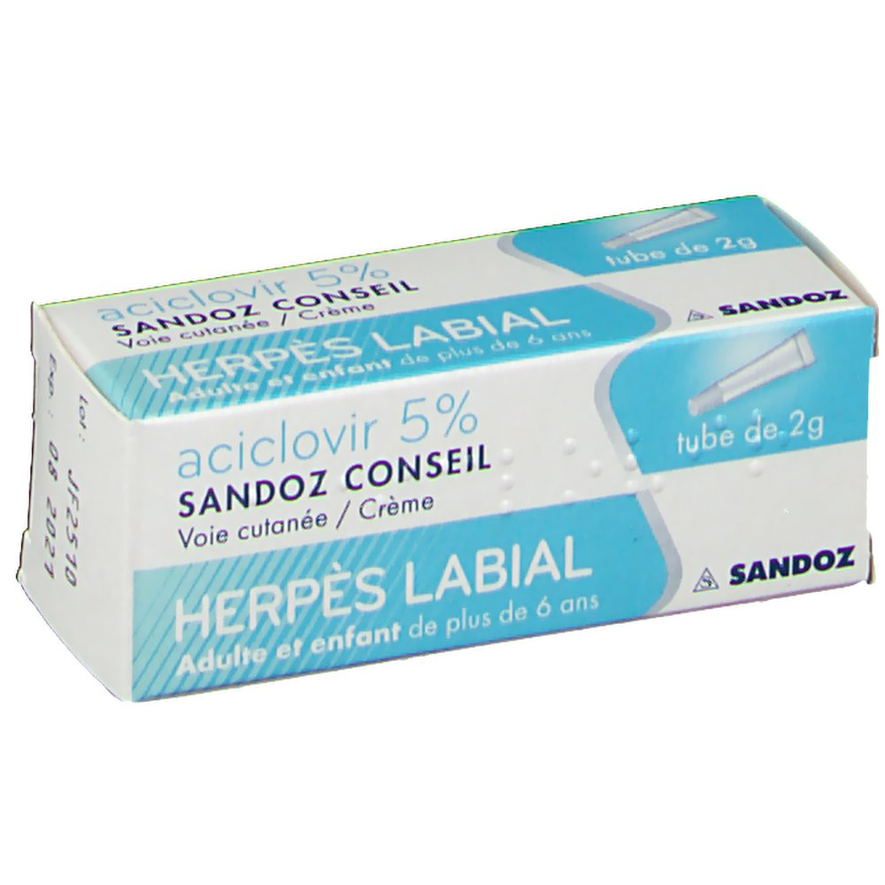ACICLOVIR SANDOZ CONSEIL - shop-pharmacie.fr