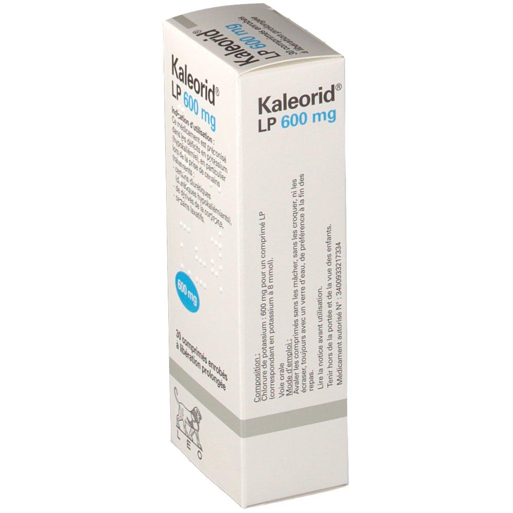 Kaleorid® LP 600 mg - shop-pharmacie.fr