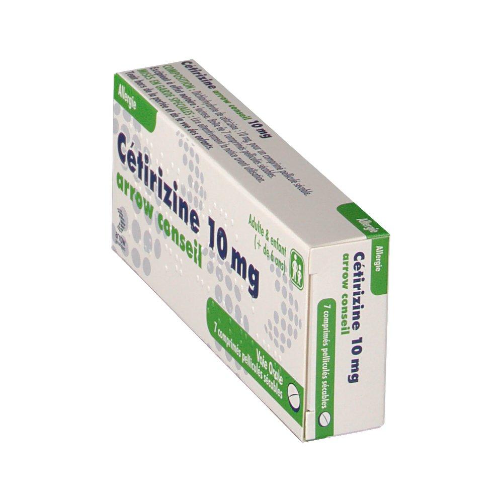 Arrow Conseil Cetirizine 10 mg - shop-pharmacie.fr
