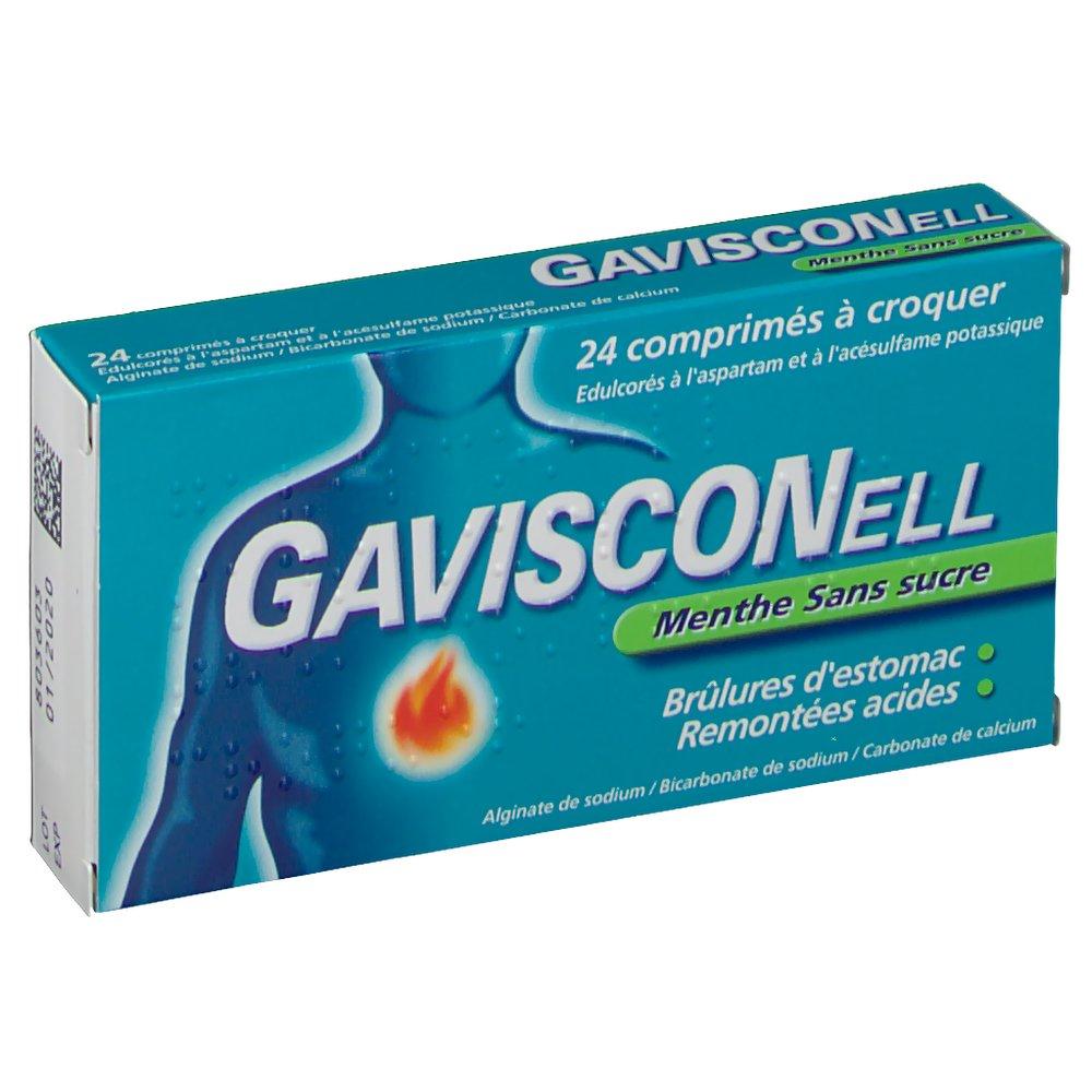 Gavisconell® Menthe sans sucre