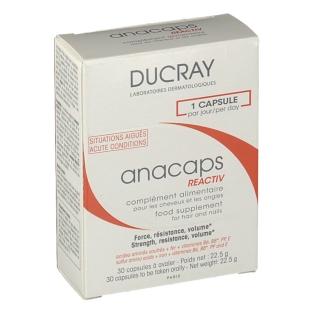 ducray anacaps reactiv 30 st shop. Black Bedroom Furniture Sets. Home Design Ideas