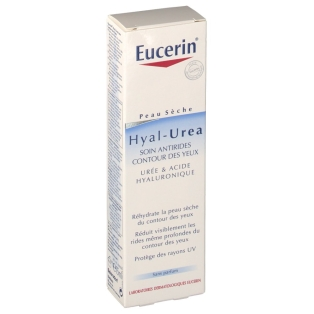 eucerin hyal urea soin anti rides contour des yeux 15 ml shop. Black Bedroom Furniture Sets. Home Design Ideas