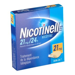Patch nicotine 21 mg prix du