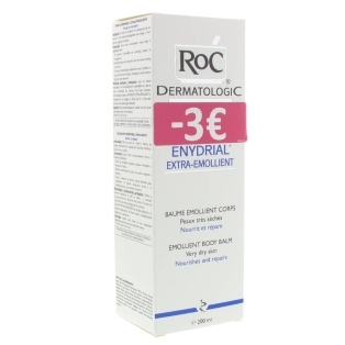 roc enydrial baume extra emollient corps peau tr s s che 200 ml shop. Black Bedroom Furniture Sets. Home Design Ideas