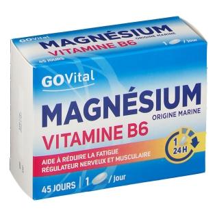 Urgo GOVital magnesium vitamine B6 comprimés à avaler