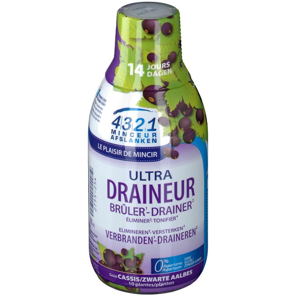 4321 C Minceur Draineur Cassis 280 ml