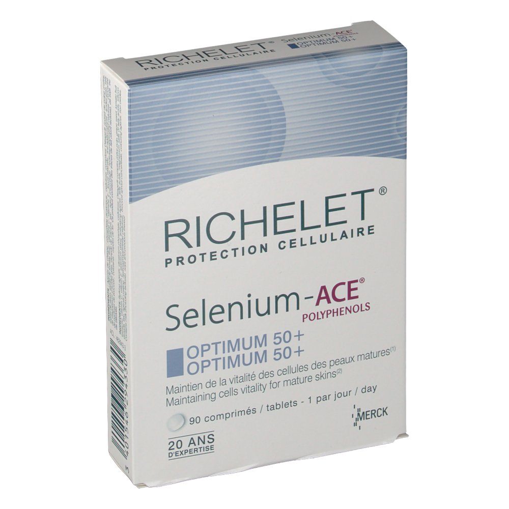 Richelet Sélénium ACE Optium 50+ anti-âge