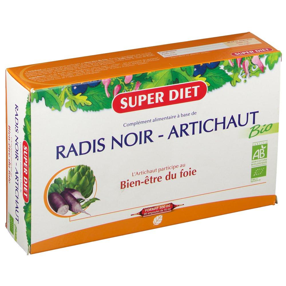 Super C Diet radis noir artichaut