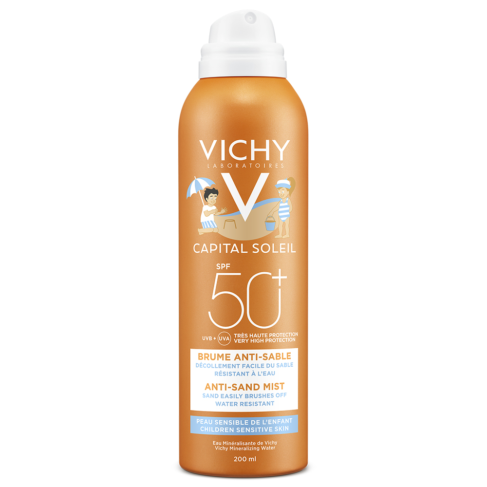 Vichy Ideal Soleil Brume Anti-sable enfants SPF 50+