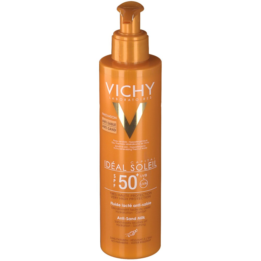 Vichy Ideal Soleil Fluide lacté Anti-sable SPF 50+