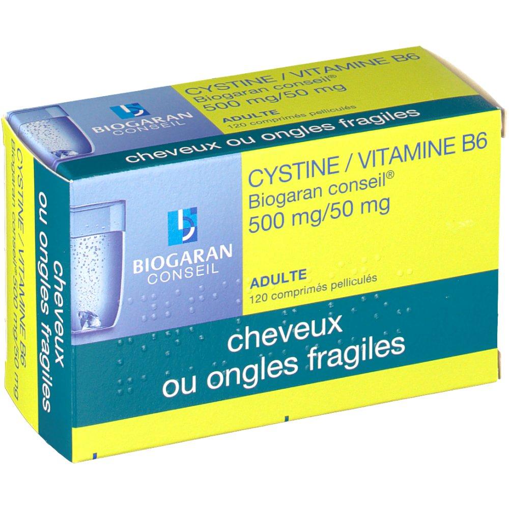 Biogaran Conseil Cystine/Vitamine B6 500 mg/50 mg